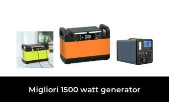 45 Migliori 1500 watt generator nel 2021 [Secondo 742 Esperti]