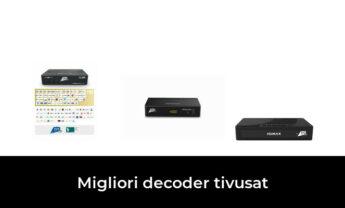 47 Migliori decoder tivusat nel 2021 [Secondo 271 Esperti]