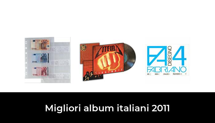 22 Migliori album italiani 2011 nel 2021 [Secondo 381 Esperti]