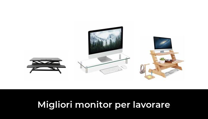 47 Migliori monitor per lavorare nel 2021 [Secondo 180 Esperti]